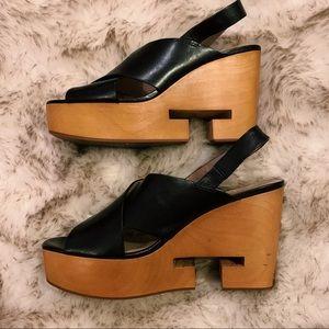 Rare Tory Burch Clog heels